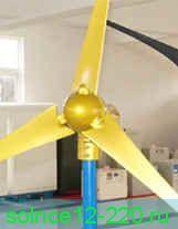 Ветрогенератор WindPower W-400 мощность 400 ватт 24в начало работы при скорости ветра от 2 мс (производительность 6-8 квт в сутки) встроенный выпрямитель с 3х фаз на постоянный ток КОНТРОЛЛЕР УПРАВЛЕНИЯ В ПОДАРОК
