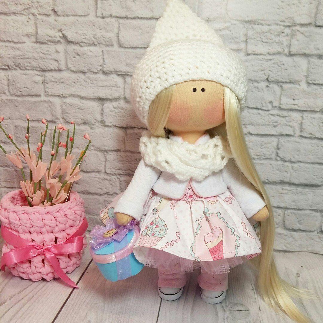 Текстильная кукла от макушки до пяточек Ярмарка Мастеров 13