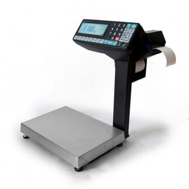 Фасовочные весы-регистраторы с печатью этикеток и чеков МАССА МК-15.2-RP10