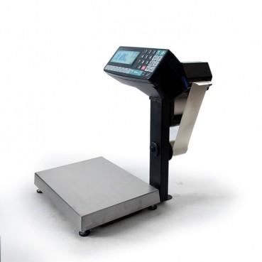 Фасовочные весы-регистраторы с печатью этикеток и чеков МАССА МК-6.2-RP10-1 (с подмоткой ленты)