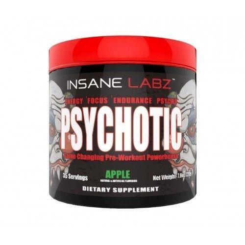 Предтренировочный комплекс Psychotic 35п. (InsaneLabz) (в ассортименте)