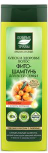 """""""ДТ"""" шампунь-фито для всей семьи блеск и здоровье волос 520 мл."""