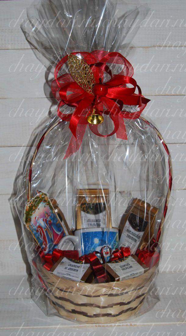 """Корзина из чая """"Рождественские пляски"""""""