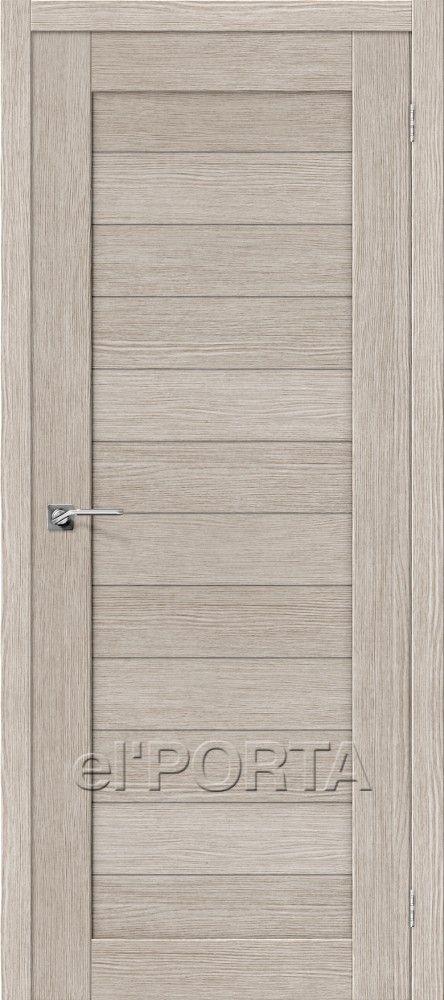 Межкомнатная дверь ПОРТА-21 Cappuccino