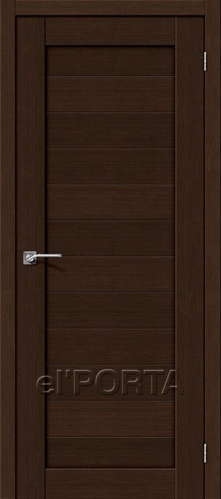 Межкомнатная дверь ПОРТА-21 Wenge
