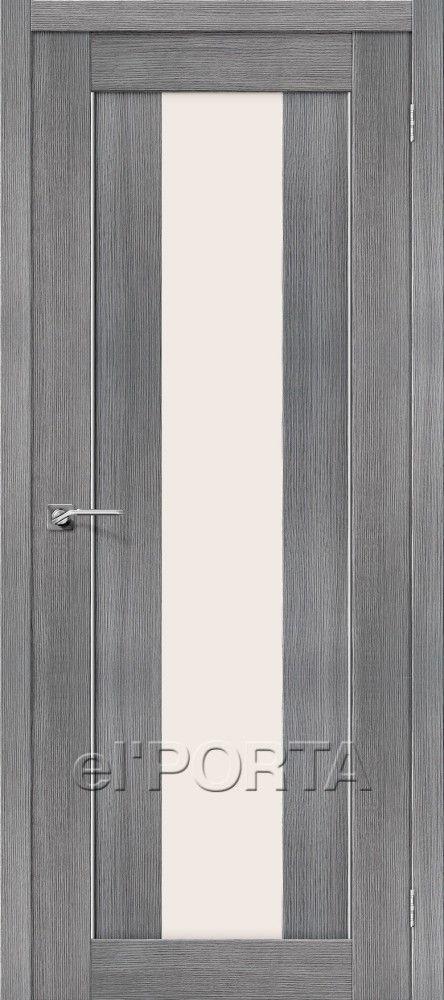 Межкомнатная дверь ПОРТА X-25 ALU Grey Veralingа