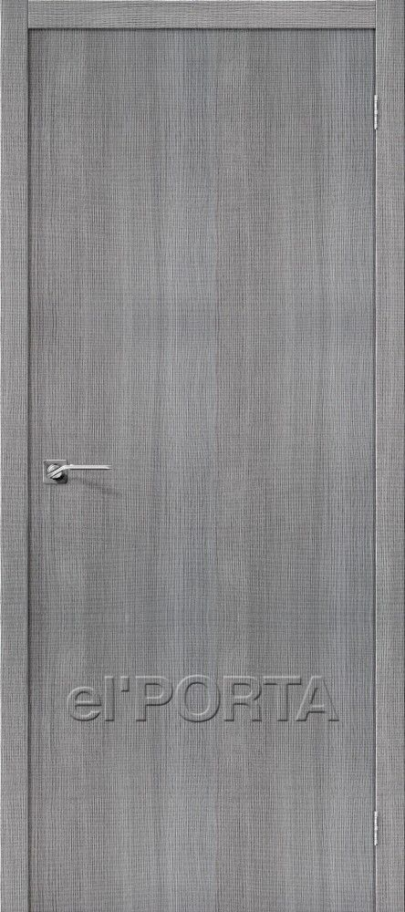 Межкомнатная дверь ПОРТА Z-50 Grey Crosscut