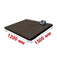 Весы платформенные МИДЛ МП 600 ВЕДА Ф-1 (100/200; 1200х1500) «Циклоп 12»