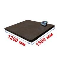 Весы платформенные МИДЛ МП 3000 ВЕДА Ф-1 (500/1000; 1200х1500) «Циклоп 12»