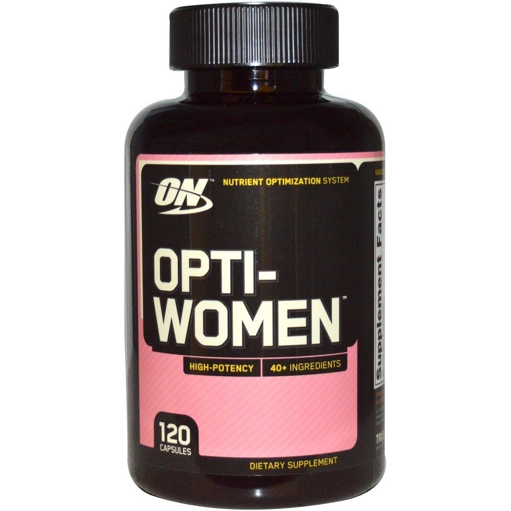 Витамины Opti-Women (Optimum Nutrition) 120 табл