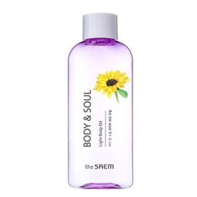 The SAEM BODY & SOUL Light Body Oil 230ml - Легкое питательное масло для зрелой кожи