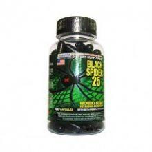 Жиросжигатель Black Spider 25mg Eph(Cloma Pharma) 100кап.