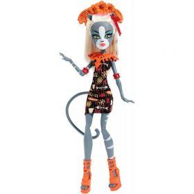 Кукла Monster High Мяулодия  серия Монстрические каникулы