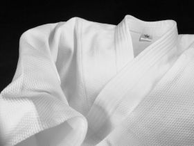 Уваги (куртка) для айкидо из Японии (AIKI) модель - DELUXE WA300