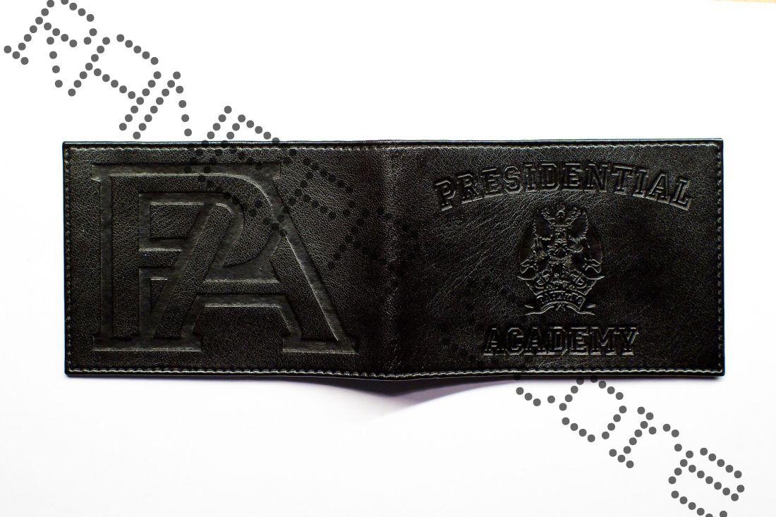 Обложка для Студенческого билета Кожаная (черная)