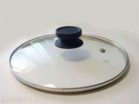 Крышка стекл.в мет.ободе Tim A d 24 см с паровыпуском. арт 4724 (код 154)