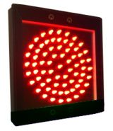 Светофор светодиодный односекционный (145мм)