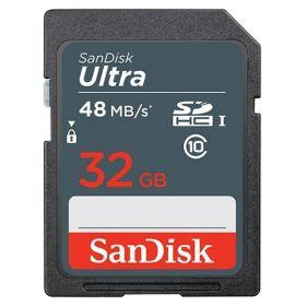 Карта памяти Sandisk SD 32Gb cl.10 до 48MB/s UHS-I