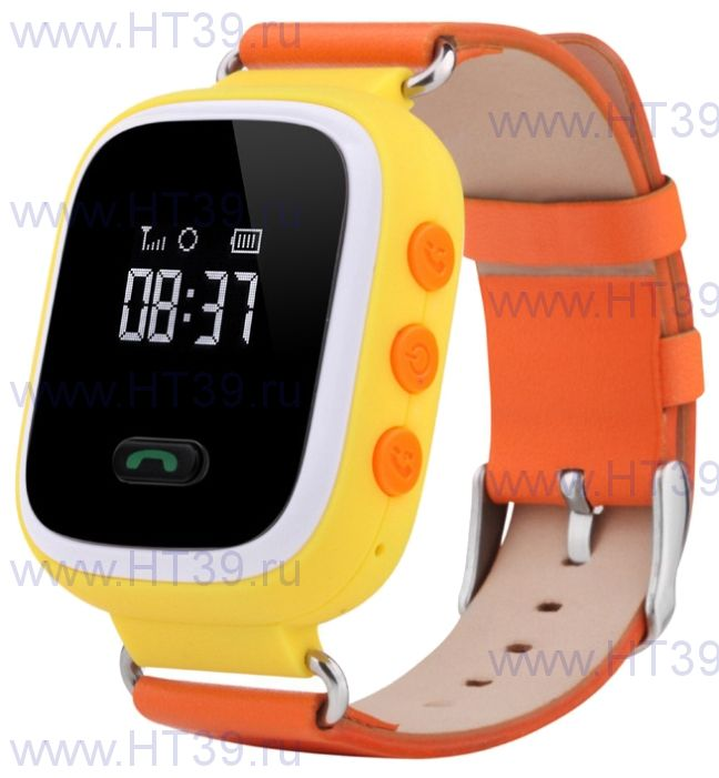 Детские часы Smart Baby Watch Q60 Yellow