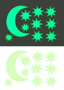 Звездное небо Месяц + 9 звезд
