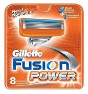 Gillette Fusion Power 8шт