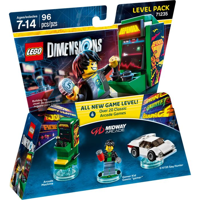 Lego Dimensions 71235 Level Pack (Midway Arcade)