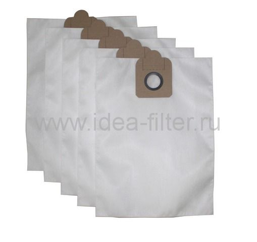 IDEA NL-04 - мешок для пылесоса NILFISK GD 1000. 10 штук синтетический одноразовый