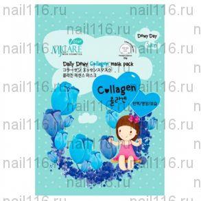 МЖ Daily Dewy Маска тканевая с коллагеном MJ Care Daily Dewy Сollagen Mask Pack