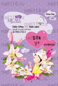 МЖ Daily Dewy Маска тканевая с аминокислотами шелка MJ Care Daily Dewy Silk mask pack