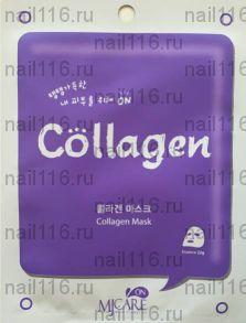 МЖ MJ CARE Маска тканевая с коллагеном MJ on Collagen mask pack