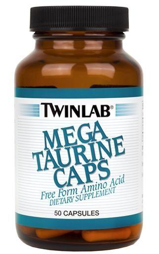 Twinlab - Mega Taurine Caps (50 капс)