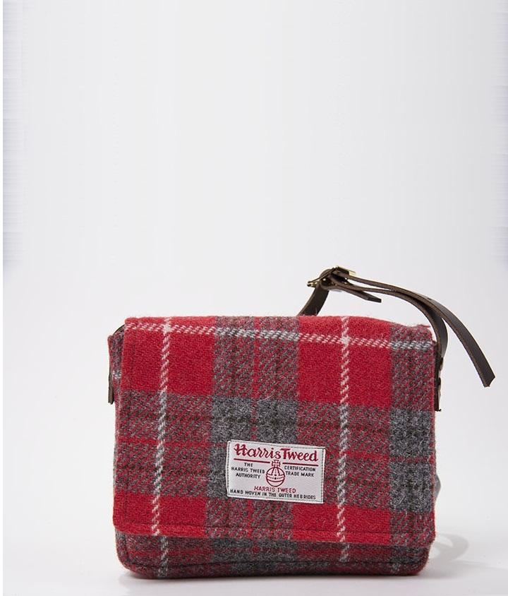 Шотландская дизайнерская сумка Harris Tweed Coll Bag (ручная работа)