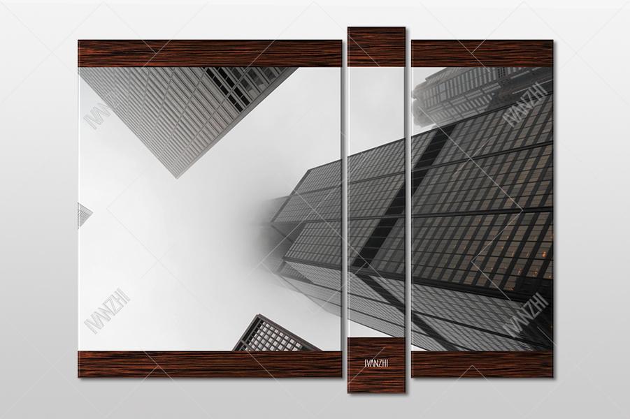 Вид у подножия Чикагского небоскреба Уиллис-Тауэр