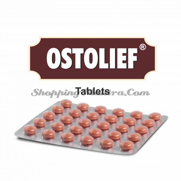Хондропротекторный и противоостеоартритный препарат Остолиф Чарак Фарма   Charak Pharma Ostolief Tablet