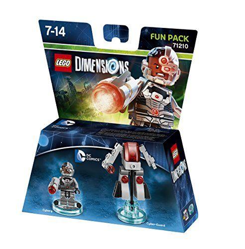 Lego Dimensions 71210 Fun Pack (Cyborg)