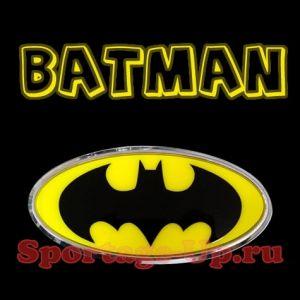 Эмблема Batman 3D на перед или зад, MBOL