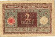 2 марки. 1920 год.  № 48 - 656475.
