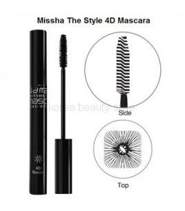 MISSHA The Style 4D Mascara Тушь для ресниц с эффектом 4Д.