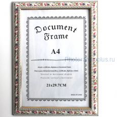 Фоторамка для сертификата формата А4 (артикул А3)
