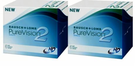 Pure Vision 2 HD (2 упаковки)