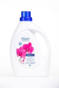 Гель для стирки цветного. Гипоаллергенный. Mayeri Sensitive Color 1,0 л
