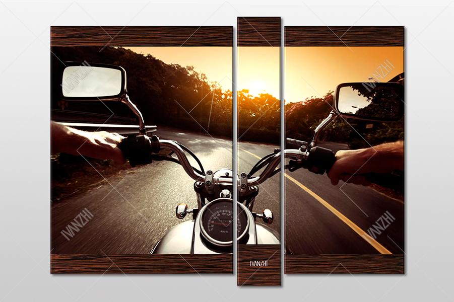 Мотоцикл и дорога