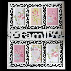 Мультирамка на 6 фото Family YI 605