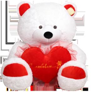 Мишка Валентин (120 см)