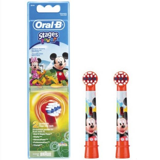 Насадка Braun Oral-B Stages Power Mickey Mouse 2шт.