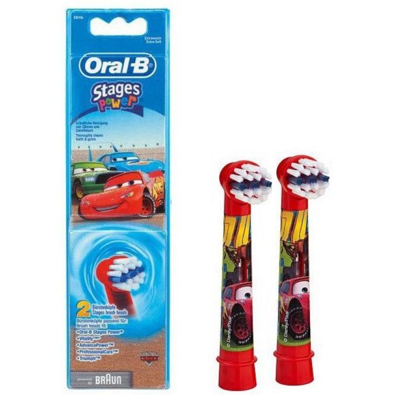 Насадка Braun Oral-B Stages Power Cars - 2шт.