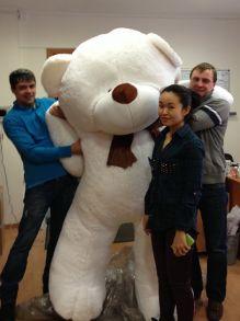Медведь Зевс (220 см)