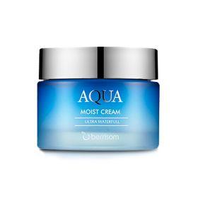 BERRISOM Aqua Moist Cream 50ml - Крем для лица увлажняющий
