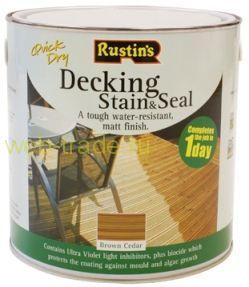Краска для деревянного пола (Decking Stain & Seal)