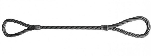 Строп универсальный канатный петлевой УСК1 ручной заплет